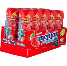 mentos gum pocket 30g cx 10