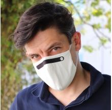máscara reutilizável 100% algodão adulto nível 2 pk 10