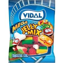 mega jelly mix sortido brilho 100g cx 14