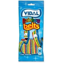 línguas rainbow belts multicolor 100g cx 14