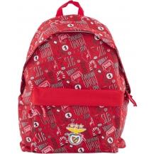 mochila escolar benfica c/ fecho