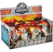 exp. mini dinossauros jurassic world sort. 24 un.
