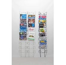 expositor revistas parede simples