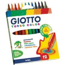 blister 12 canetas de feltro pack 3
