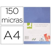 acetatos p/ encadernar 150 mcs pack 100