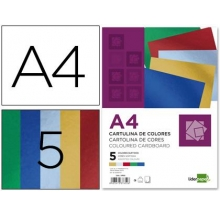 bloco cartolina metalizada a4 50 fls