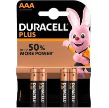 pilhas plus power aaa pack 10