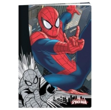 caderno a5 spider-man quad. 40 fls
