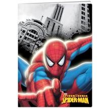 caderno a4 spider-man quad. 40 fls