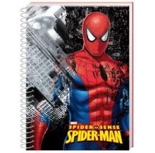 cad. a5 spider-man capa dura paut.