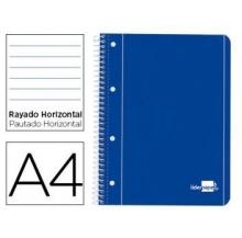 caderno a4 espiral 80 fls paut.