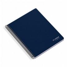 caderno espiral a5 80 fls paut.