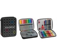 conjunto escolar colorful duplo fecho