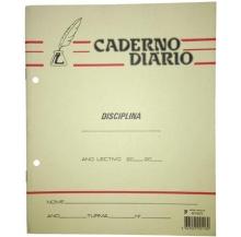 caderno diário agraf. a4 quad. 36f