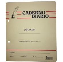 caderno diário agraf. a4 paut. 36f