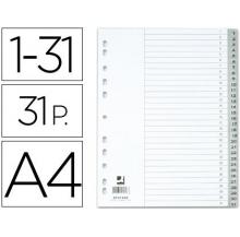 separadores a4 1-31