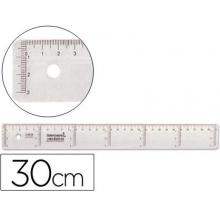 régua plástico 30 cm