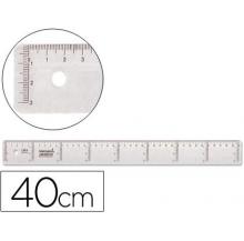 régua plástico 40 cm
