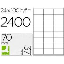 etiquetas adesivas a4 70x37 100 fls