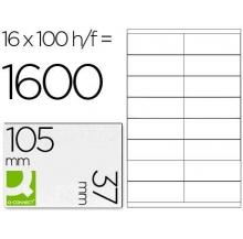 etiquetas adesivas a4 105x37 100 fls