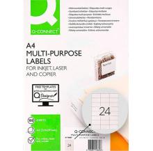 etiquetas adesivas a4 210x297 100 fls