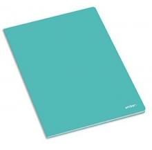 caderno agraf. a5 60 fls school paut. cores sort.