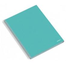 caderno esp. a4 disciplinas cores sort.