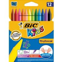 blister lápis de cera plastidecor (12)