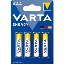 pilhas alcalinas energy lr03/aaa cx 10