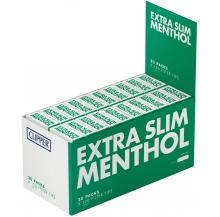 filtros extra slim menthol cx 20