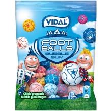 bolas futebol c/ pastilha elástica 90g cx 14
