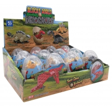 brinquedo construção ovo dinossauro cx 12 <big><b>-redução de preço!-</b></big>