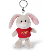 porta-chaves coelho love you 10cm cx 6