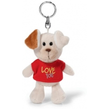 porta-chaves cão love you 10cm cx 6