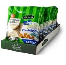 mini galetes integrais arroz 25g cx 12